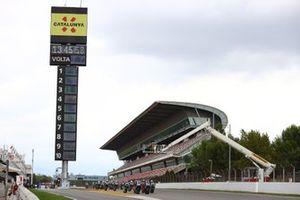 Start der Supersport-Klasse in Barcelona