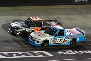 Colby Howard, CR7 Motorsports, Chevrolet Silverado Grant County Mulch, Chase Purdy, GMS Racing, Chevrolet Silverado Bamabuggies.com