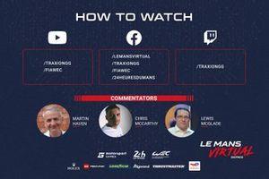 Suivez les Le Mans Virtual Series en direct
