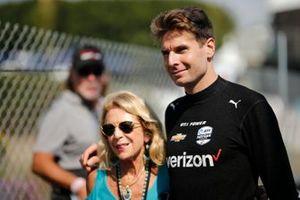 Will Power, Team Penske Chevrolet, avec une fan