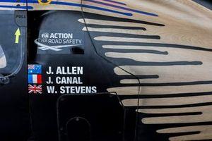 Detalle del #65 Panis Racing Oreca 07 - Gibson LMP2, Julien Canal, Will Stevens, James Allen