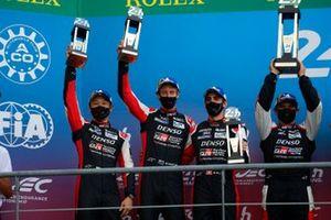 2. #8 Toyota Gazoo Racing Toyota GR010 - Hybrid Hypercar, Sébastien Buemi, Kazuki Nakajima, Brendon Hartley