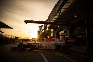 Red Bull Racing RB16B with the special white livery