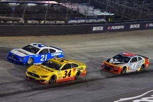 Michael McDowell, Front Row Motorsports, Ford Mustang Love's Travel Stops, Matt DiBenedetto, Wood Brothers Racing, Ford Mustang Reese/Draw-Tite, andnErik Jones, Richard Petty Motorsports, Chevrolet Camaro US Air Force Tuskegee Airmen