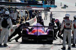 #52: PR1 Mathiasen Motorsports ORECA LMP2 07, LMP2: Ben Keating, Mikkel Jensen, pit stop