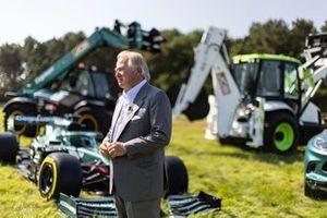Anthony Bamford, chairman of JCB