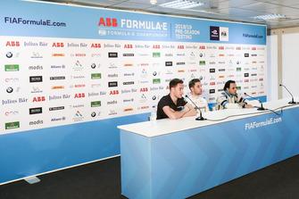 Stoffel Vandoorne, HWA Racelab, Robin Frijns, Envision Virgin Racing, Felipe Massa, Venturi Formula E, in de persconferentie