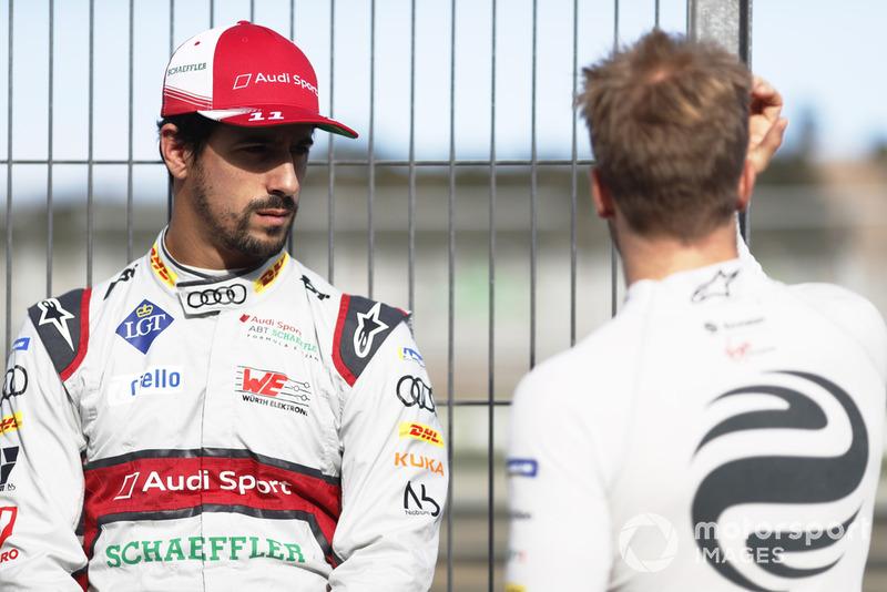 Lucas di Grassi, Audi Sport ABT Schaeffler, Audi e-tron FE05, Sam Bird, Envision Virgin Racing