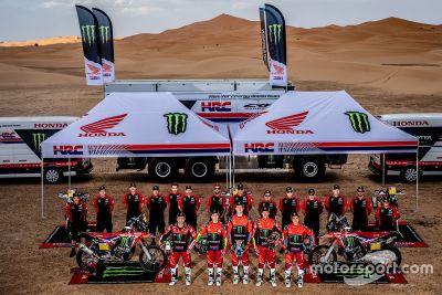 Presentazione Team Monster Energy Honda