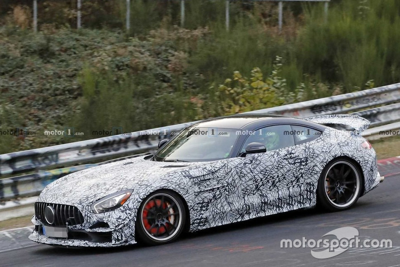 Mercedes AMG GT-R Clubsport (шпигунське фото)