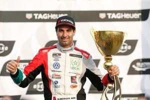 Podio: il vincitore della gara Mehdi Bennani, Sébastien Loeb Racing
