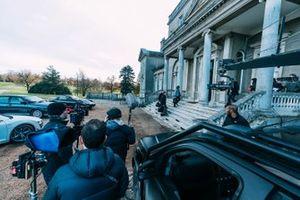 Scène de tournage sur le film Heroes