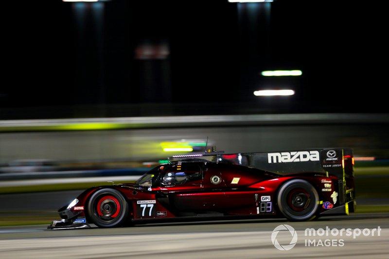 #77 Oliver Jarvis, Tristan Nunez, Timo Bernhard, Rene Rast; Mazda Team Joest, Mazda DPi (DPi)
