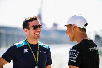 Nicholas Latifi, DAMS, Sean Gelael, PREMA Racing