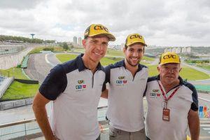 Gualter Salles, Lucas Foresti e Mauro Vogel