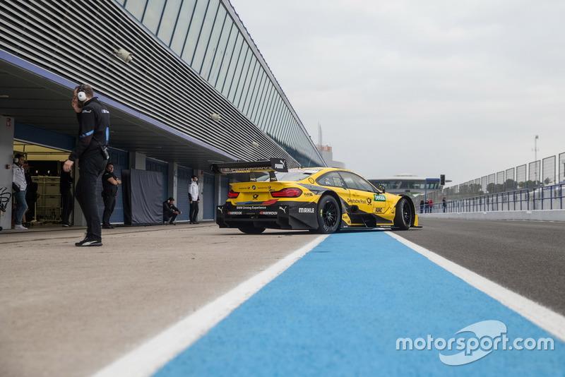 Шелдон ван дер Линде, BMW M4 DTM