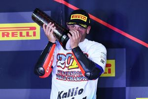 Podium: second place Sandro Cortese, Kallio Racing