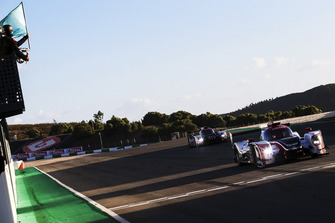 Bandera a cuadros #22 United Autosports Ligier JSP217 - Gibson: Philip Hanson, Filipe Albuquerque