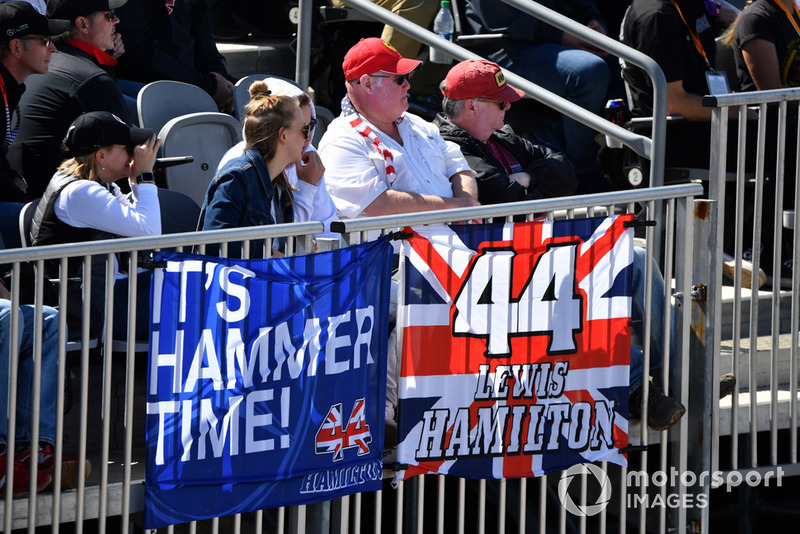 Rajongók az Amerikai Nagydíjról - F1 2018
