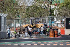 Track Ambiance after crash