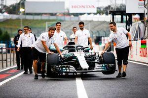 El Mercedes AMG F1 W09 EQ Power+ de Lewis Hamilton