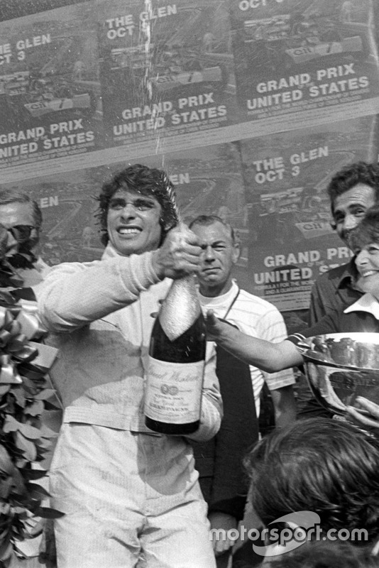 Le vainqueur Francois Cevert, Tyrrell