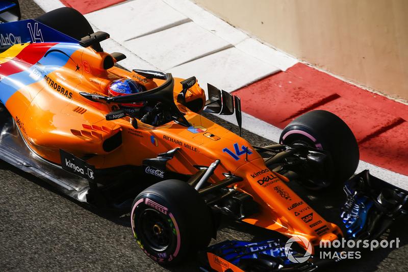 Машина Фернандо Алонсо – McLaren MCL33