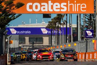 David Reynolds, Erebus Motorsport Holden leads