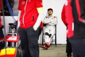 Daniel Abt, Audi Sport ABT Schaeffler in the garage