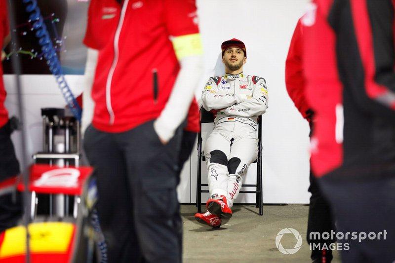 Daniel Abt, Audi Sport ABT Schaeffler dans le garage