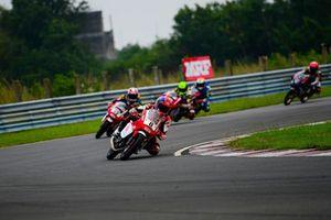 Rajiv Sethu, Honda leads.