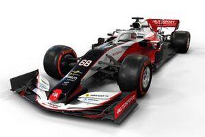 Diseño del auto de Motorsport Network F1