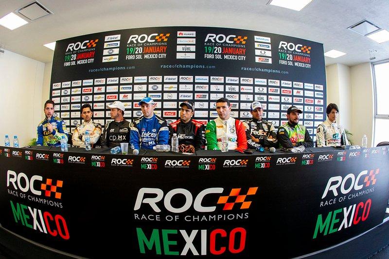 Les participants à la ROC Mexico lors de la conférence de presse