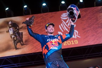 Podium: #1 Red Bull KTM Factory Racing KTM: Matthias Walkner