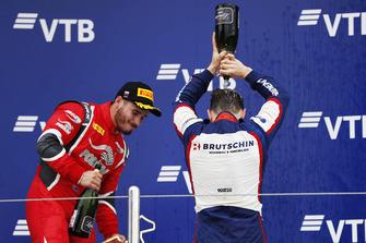 Podium: winnaar David Beckmann, Trident