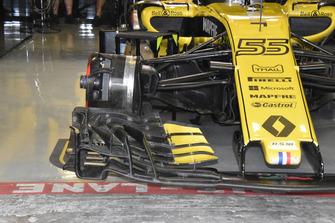 Renault Sport F1 Team R.S. 18 detalle frontal