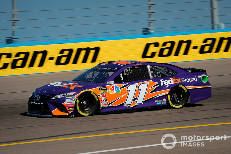 10. Denny Hamlin, Joe Gibbs Racing, Toyota Camry FedEx Ground