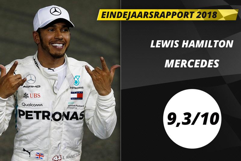 Eindrapport 2018: Lewis Hamilton, Mercedes