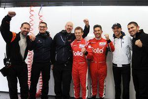 LMP2 polesitters #31 Dragonspeed Oreca 07: Roberto Gonzalez, Pastor Maldonado, Anthony Davidson