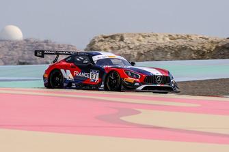 #87 France, AKKA-ASP Team Mercedes - AMG GT3: Jean-Luc Beaubelique, Jim Pla
