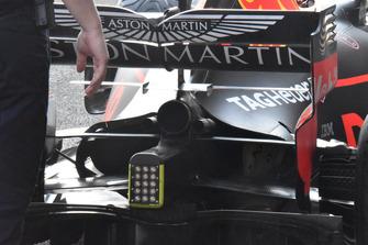 Red Bull Racing RB14 detalle alerón delantero