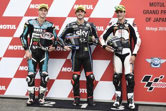 Fabio Quartararo, Speed Up Racing Francesco Bagnaia, Sky Racing Team VR46 Iker Lecuona, Swiss Innovative Investors
