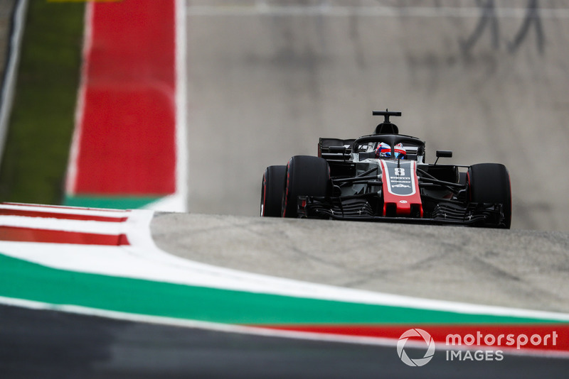 Ausfall: Romain Grosjean, Haas F1 Team VF-18