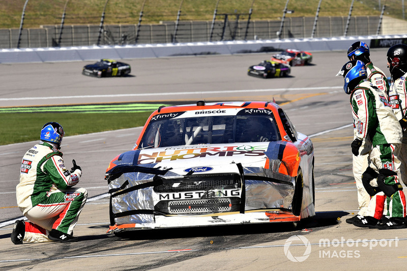 Chase Briscoe, Biagi-DenBeste Racing, Ford Mustang Nutri Chomps