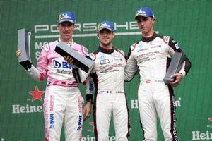 Podium: Michael Ammermüller, BWT Lechner Racing, Julien Andlauer, martinet by ALMERAS, Thomas Preining, BWT Lechner Racing