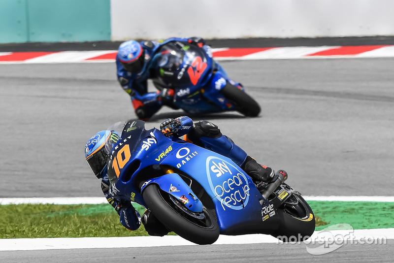 Luca Marini, Sky Racing Team VR46, Francesco Bagnaia, Sky Racing Team VR