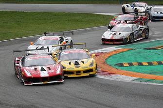 #9 Ferrari 488, Formula Racing: Niklas Nielsen e #92 Ferrari 488, Baron Motorsport: Sam Smeeth