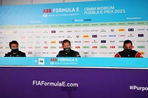 Nyck de Vries, Mercedes-Benz EQ, Sam Bird, Jaguar Racing, Sebastien Buemi, Nissan e.Dams
