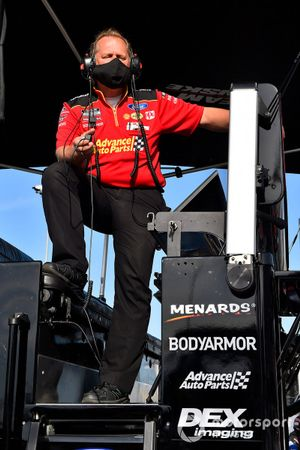 Todd Gordon, Ryan Blaney, Team Penske, Ford Mustang Advance Auto Parts