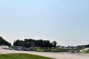 Matt DiBenedetto, Wood Brothers Racing, Ford Mustang Menards / Dutch Boy add Ross Chastain, Chip Ganassi Racing, Chevrolet Camaro AdventHealth